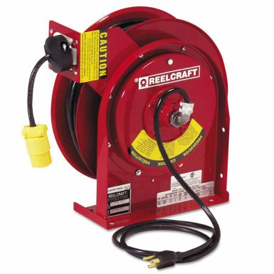 Reelcraft L45451233 Heavy Duty Power Cord Reels