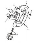 Ridge Tool Company 34370 Ridgid 392 Tubing Cutter Rolls