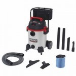 Ridge Tool Company 50353 Ridgid Stainless Steel Wet/Dry Vac with Cart Model 1610RV
