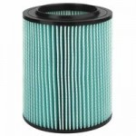 Ridge Tool Company 97457 Ridgid 5-Layer HEPA Filter For Wet/Dry Vacuums