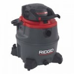 Ridge Tool Company 50343 Ridgid Red Wet/Dry Vac Model 1620RV with Detachable Blower