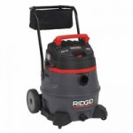Ridge Tool Company 50348 Ridgid Red Wet/Dry Vac Model 1400RV with Cart