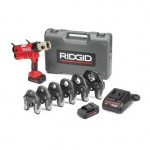 Ridge Tool Company 43373 RP 340 Corded Press Tool Kits with 1/2 in to 2 in ProPress Jaws