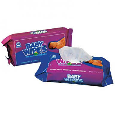 Royal Paper Products RPPRPBWUR80 Royal Baby Wipes