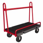 Rubbermaid Commercial 4464-BLA A-Frame Panel Truck