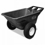 Rubbermaid Commercial 5642-10-BLA Big Wheel Cart
