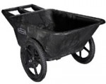 Rubbermaid Commercial 564200BLA Big Wheel Cart