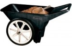 Rubbermaid Commercial 5654-61-BLA Big Wheel Cart