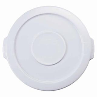 Rubbermaid Commercial 2609-WHT Brute Round Container Lids