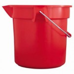 Rubbermaid Commercial 261400RED Brute Round Buckets