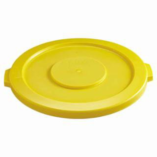 Rubbermaid Commercial 263100YEL Brute Round Container Lids