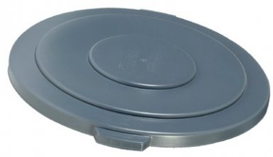Rubbermaid Commercial 265400GRAY Brute Round Container Lids