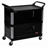 Rubbermaid Commercial 4095-BLA Cart