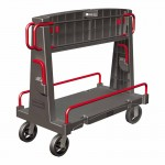 Rubbermaid Commercial 4465-BLA Convertible A-Frame Truck