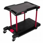 Rubbermaid Commercial 4300-BLA Convertible Utility Cart