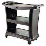 Rubbermaid Commercial RCP9T6800BK Executive Service Cart