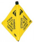 Rubbermaid Commercial 9S0000YEL Floor Pop-up Safety Cones