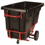 Rubbermaid Commercial 1305-42-BLA Forkliftable Tilt Truck