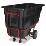 Rubbermaid Commercial 1315-42-BLA Forkliftable Tilt Truck