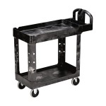 Rubbermaid Commercial RCP450088BK Heavy-Duty Utility Cart