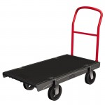 Rubbermaid Commercial 4466-BLA Heavy-Duty Platform Truck