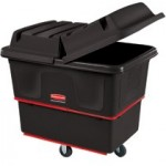Rubbermaid Commercial 4716-BLA Heavy Duty Utility Truck