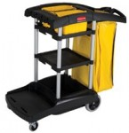 Rubbermaid Commercial 9T7200BLA High Capacity Cleaning Carts