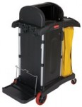 Rubbermaid Commercial 9T75 High Security Healthcare Cleaning Carts