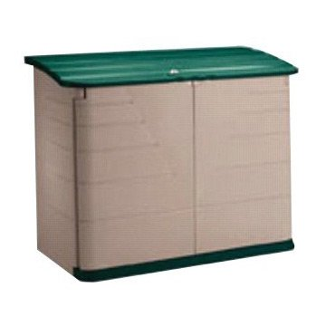 Rubbermaid Commercial 3747-01-OLVSS Horizontal Storage Sheds