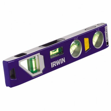 Rubbermaid Commercial 1794153 Irwin 250 Series Magnetic Torpedo Levels