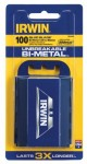 Rubbermaid Commercial 2084400 Irwin Bi-Metal Utility Blades