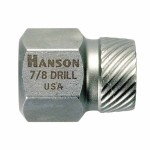Rubbermaid Commercial 52201ZR Irwin Hanson Hex Head Multi-Spline Screw Extractors - 522/532 Series