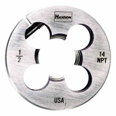 Rubbermaid Commercial 4305 Irwin Hanson High Carbon Steel Round Pipe Dies