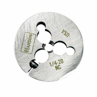 Rubbermaid Commercial 4671 Irwin Hanson Adjustable Round Fractional Dies Right & Left-hand (HCS)