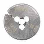 Rubbermaid Commercial 502018 Irwin Hanson Adjustable Round Machine Screw & Fractional Dies (HSS)
