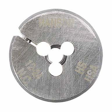 Rubbermaid Commercial 502049 Irwin Hanson Adjustable Round Machine Screw & Fractional Dies (HSS)