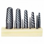 Rubbermaid Commercial 52425 Irwin Hanson Spiral Flute Screw Extractors - 535/524 Series Sets