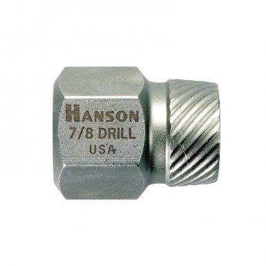 Rubbermaid Commercial 53221 Irwin Hanson Hex Head Multi-Spline Screw Extractors - 522/532 Series