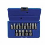Rubbermaid Commercial 53228 Irwin Hanson Hex Head Multi-Spline Screw Extractors - 532 Series - Plastic Case Sets