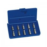 Rubbermaid Commercial 53228MT Irwin Hanson Hex Head Multi-Spline Screw Extractors - 532 Series - Plastic Case Sets