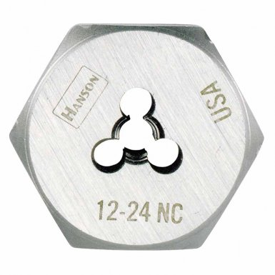 Rubbermaid Commercial 6431 Irwin Hanson Hexagon Machine Screw Dies (HCS)