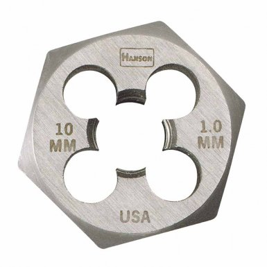 Rubbermaid Commercial 6612 Irwin Hanson Hexagon Metric Dies (HCS)