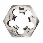 Rubbermaid Commercial 6711 Irwin Hanson Hexagon Taper Pipe Dies (HCS)