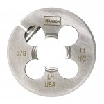 Rubbermaid Commercial 7658 Irwin Hanson Adjustable Round Fractional Dies Right & Left-hand (HCS)