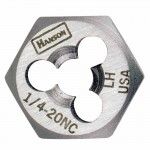 Rubbermaid Commercial 7752 Irwin Hanson Re-threading Hexagon Fractional Dies Right & Left-hand (HCS)