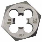 Rubbermaid Commercial 9744 Irwin Hanson Hexagon Metric Dies (HCS)