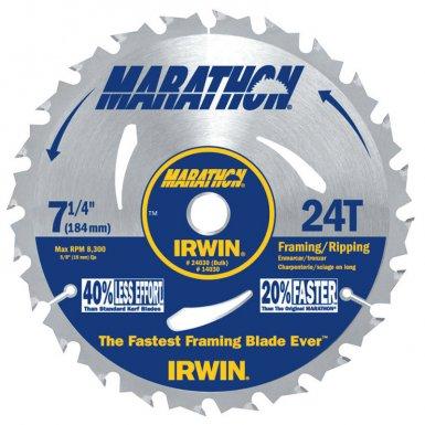 Rubbermaid Commercial 24030 Irwin Marathon Portable Corded Circular Saw Blades