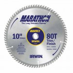 Rubbermaid Commercial 14076LWC Irwin Marathon Miter / Table Saw Blades