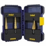 Rubbermaid Commercial 15502 Irwin Unibit Step Drill Sets