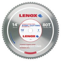 Rubbermaid Commercial 21891ST140080CT Lenox Metal Cutting Circular Saw Blades